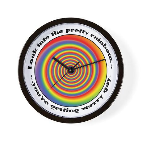 Gay Recruiter Hypnosis Wall Clock