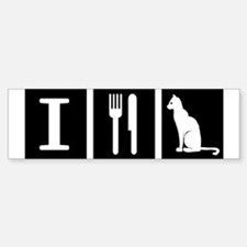 I Eat Pussy Sticker (Bumper)
