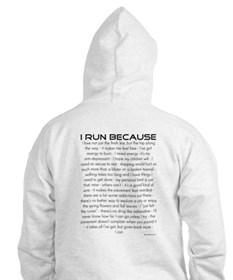 I Run Because Jumper Hoody