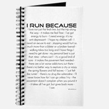 I Run Because Journal