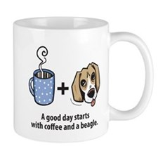 Coffee and a beagle Mug