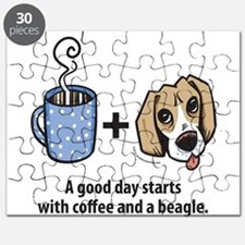 Coffee and a beagle Puzzle