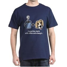 Coffee and a beagle T-Shirt