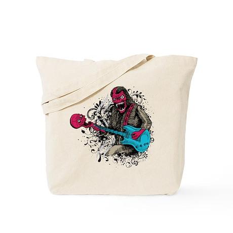 Demon Guitarist Tote Bag
