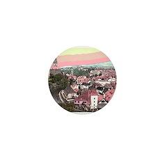 Cesky Krumlov Mini Button