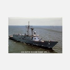 USS OLIVER HAZARD PERRY Rectangle Magnet