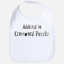 Addicted to Crossword Puzzles Bib