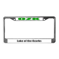 Lake of the Ozarks License Plate Frame OZK