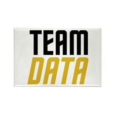 Team Data Rectangle Magnet