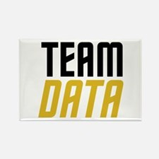 Team Data Rectangle Magnet (10 pack)