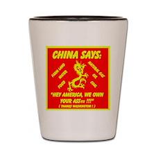 China - ASSets Shot Glass