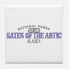 Gates Of The Artic Alaska Tile Coaster
