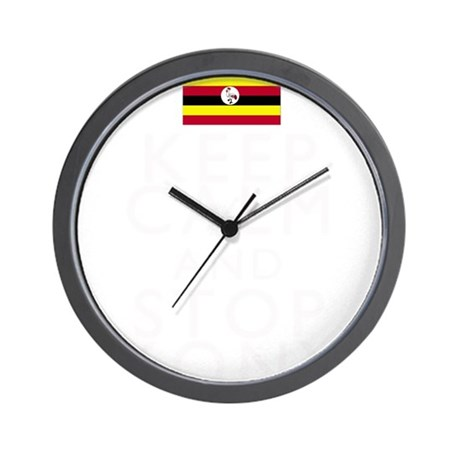 Stay Calm and Stop Kony Wall Clock
