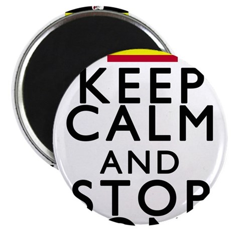 "Stay Calm and Stop Kony 2.25"" Magnet (100 pack)"