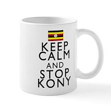 Stay Calm and Stop Kony Small Mug