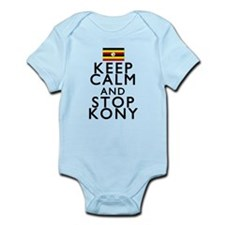 Stay Calm and Stop Kony Infant Bodysuit