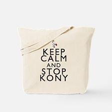 Keep Calm and Stop Kony Tote Bag