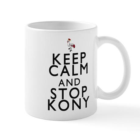 Keep Calm and Stop Kony Mug