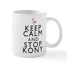 Keep Calm and Stop Kony Small Mug