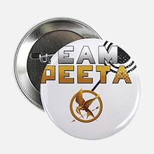 "Team Peeta [Hunger Games] 2.25"" Button"