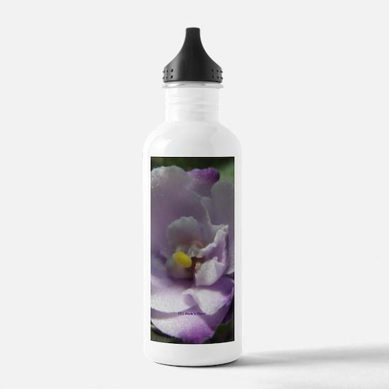 African Violet #02 Water Bottle