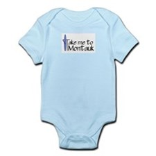 Take me to Montauk Infant Bodysuit