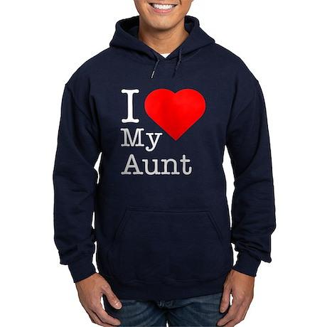 I Love My Aunt Hoodie (dark)