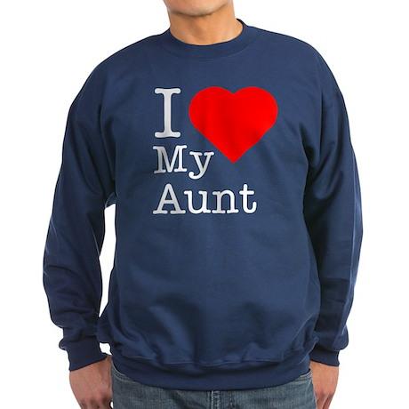 I Love My Aunt Sweatshirt (dark)