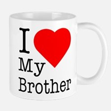 I Love My Brother Mug
