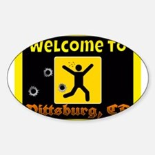 Welcome To Pittsburg Decal