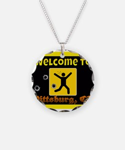 Welcome To Pittsburg Necklace