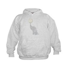 Volleyball Elephant Gift Hoodie