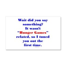 Not HG Related Car Magnet 20 x 12