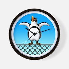 Penguin1 Wall Clock