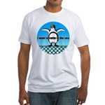 Penguin2 Fitted T-Shirt