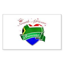South African Princess Decal