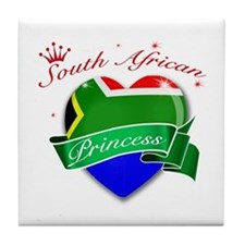 South African Princess Tile Coaster