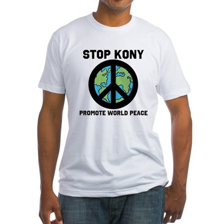 STOP KONY 2012 Fitted T-Shirt