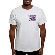 Peace Love Cure 2 Epilepsy T-Shirt