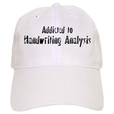 Addicted to Handwriting Analy Baseball Cap