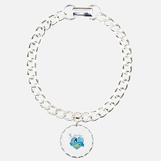 St Lucian Princess Bracelet