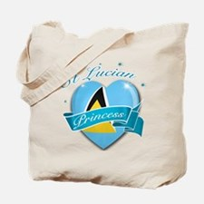 St Lucian Princess Tote Bag