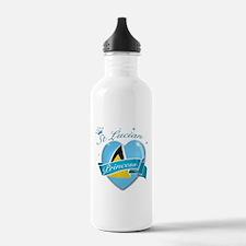 St Lucian Princess Water Bottle