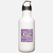 Family Square Epilepsy Water Bottle