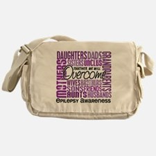 Family Square Epilepsy Messenger Bag