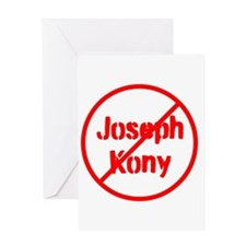 Stop Joseph Kony Greeting Card