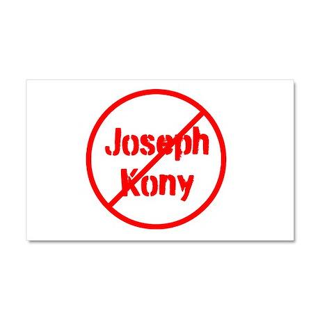 Stop Joseph Kony Car Magnet 20 x 12