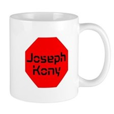 Stop Sign Joseph Kony Small Mug