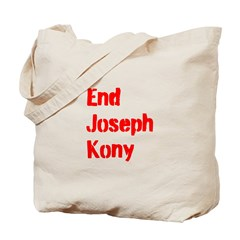 End Joseph Kony Tote Bag