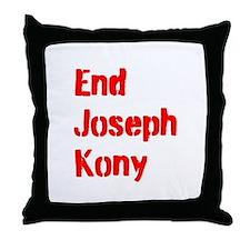 End Joseph Kony Throw Pillow